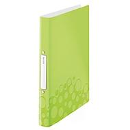 LEITZ® Ringbuch Active Wow, DIN A4, 2D-Ring-Mechanik, Rückenbreite 32 mm, grün
