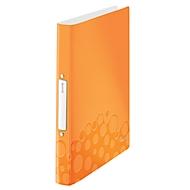 LEITZ® Ringbuch Active Wow, DIN A4, 2D-Ring-Mechanik, Rückenbreite 32 mm, orange