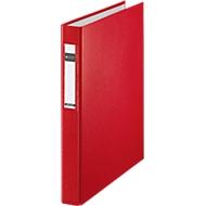 LEITZ® Ringbuch, DIN A4, 4-Ring-Mechanik, Rückenbreite 40 mm, überbreit, rot