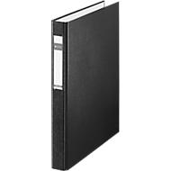 LEITZ® Ringbuch, DIN A4, 4-Ring-Mechanik, Rückenbreite 40 mm, überbreit, schwarz