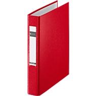 LEITZ® Ringbuch, DIN A5, 2-Ring-Mechanik, Rückenbreite 40 mm, rot