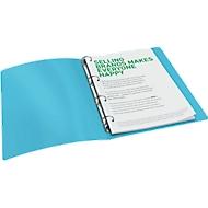 LEITZ® Ringbuch Urban Chic, DIN A4, 4 Rund-Ring Mechanik, Rückenbreite 38mm, dunkelgrau