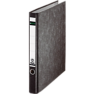 LEITZ® ringmap 1040, A4, 2-voudig ringmechanisme, rugbreedte 35 mm, wolkenmarmer