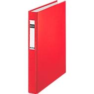 LEITZ® ringmap 4210, A4, 2-voudig ringmechanisme, rugbreedte 40 mm, 1 stuk, rood