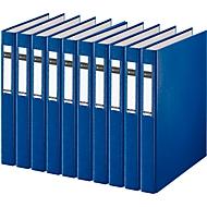 LEITZ® ringmap 4210, A4, 2-voudig ringmechanisme, rugbreedte 40 mm, 10 stuks, blauw