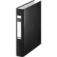 LEITZ® ringmap, A5, 2-voudig ringmechanisme, rugbreedte 40 mm, zwart