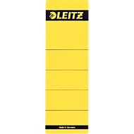 LEITZ® Rückenschild, Rückenbreite 80 mm, selbstklebend, 10 Stück, gelb