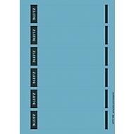 LEITZ® rugetiketten kort, via pc beletterbaar, rugbreedte 50 mm, zelfklevend, 150 st., blauw