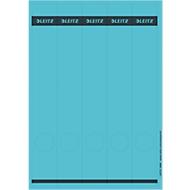 LEITZ® rugetiketten lang, via pc beletterbaar, rugbreedte 50 mm, zelfklevend 125 st., blauw