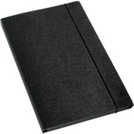 LEITZ® Sammelmappe, DIN A4, Gummizugverschluss, Hartpappe, schwarz