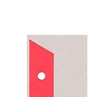 LEITZ® scheidingsbladen A4 1652, gebruik naar eigen inzicht, 25 stuks, rood