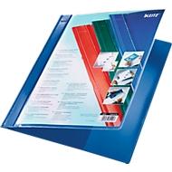 LEITZ® Schnellhefter Exquisit, DIN A4, PVC, blau