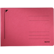LEITZ® Schnellhefter Rapid, für DIN A5 quer, Karton, rot
