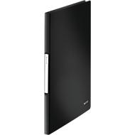 LEITZ Sichtbuch Solid, für DIN A4, 20 Hüllen, schwarz