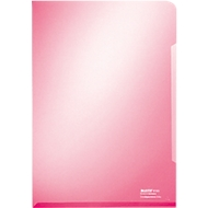 LEITZ® Sichthülle Premium 4153, DIN A4, glatt, 100 Stück, rot