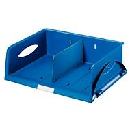 LEITZ® sorteerbak Sorty, A4 liggend, polystyreen, blauw