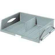 LEITZ® sorteerbak Sorty Jumbo, A3 liggend, polystyreen, grijs