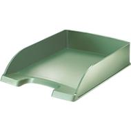 LEITZ® sorteerbak Style, A4, kunststof, seladongroen