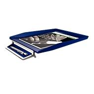 LEITZ® sorteerbak Style, A4, titaniumblauw