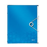 LEITZ sorteermap Active Wow, voor A4-formaat, 6 vakken, blauw