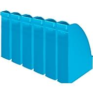 LEITZ® Stehsammler 2476, Rückenbreite 70 mm, Polystyrol, 6 Stück, hellblau