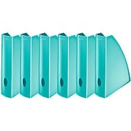 LEITZ® Stehsammler WOW 5277, Breite 75 mm,eisblau, 6 Stück