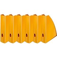 LEITZ® Stehsammler WOW 5277, Breite 75 mm,orange, 6 Stück