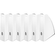 LEITZ® Stehsammler WOW 5277, Breite 75 mm,weiß, 6 Stück