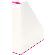 Leitz Stehsammler WOW Duo Color, weiß/pink