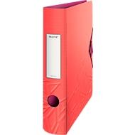 LEITZ® Urban Chic ordner,PP, met rug van 82 mm, 5 stuks, rood