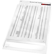 LEITZ® zichtmap Maxi, A4, generfd, 5 stuks