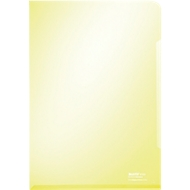 LEITZ® zichtmap Premium 4153, A4, glad, 100 stuks, geel