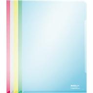 LEITZ® zichtmap Premium 4153, glad, 100 stuks, diverse kleuren