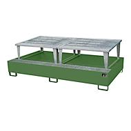 Lekbak AWA 1000-2, groen RAL 6011