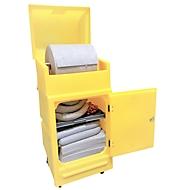 Lekkage set voor noodgevallen in onderhoudskar, universeel, bv. voor koelmiddelen, voor 200 l
