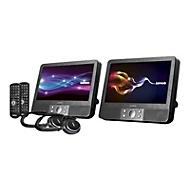 Lenco DVP-938 X2 - DVD-Player mit LCD-Monitor und Digital Player - Anzeige 22.5 cm (9