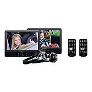 Lenco DVP-939 - zwei LCD-Monitore / DVD-Player - Anzeige 22.9 cm (9