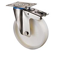 Lenkrolle mit Feststeller, H 107 mm, Tragkraft 150 kg