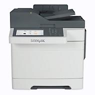 Lexmark Farblaserdrucker CX517, 4-in-1-Gerät, 30 Seiten pro Minute, großes Display