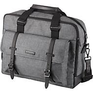 LIGHTPAK® laptoptas Twyx, voor 15 inch laptops, grijs gemêleerd