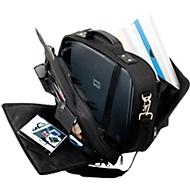 LIGHTPAK® Notebook-Tasche ARCO, geeignet für Laptops bis 15″, 2 Fächer & Schultergurt, B 405 x T 160 x H 330 mm, Polyester, schwarz
