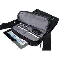 LIGHTPAK® sac à bandouilière GENIUS pour tablette PC