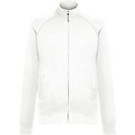 Lightweight Sweat-Jacket, weiss, L