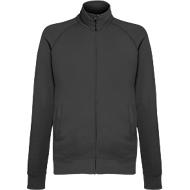 Lightweight Sweatjacket, graphit, XL
