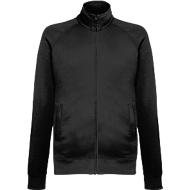 Lightweight Sweatjacket, schwarz, M