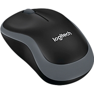 Logitech M185 Wireless Mouse, anth./gris