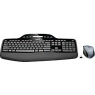 Logitech Wireless Desktop MK710, ergonomique, kit de clavier et souris