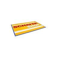 Logomat Classic Floormat, 850 x 1500 mm, middenblauw