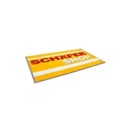 Logomatte Classic Floormat, 850 x 1500 mm, mittelgrau