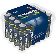 Lot éco de piles VARTA ENERGY, Micro AAA 1,5 V, paquet de 24 pièces